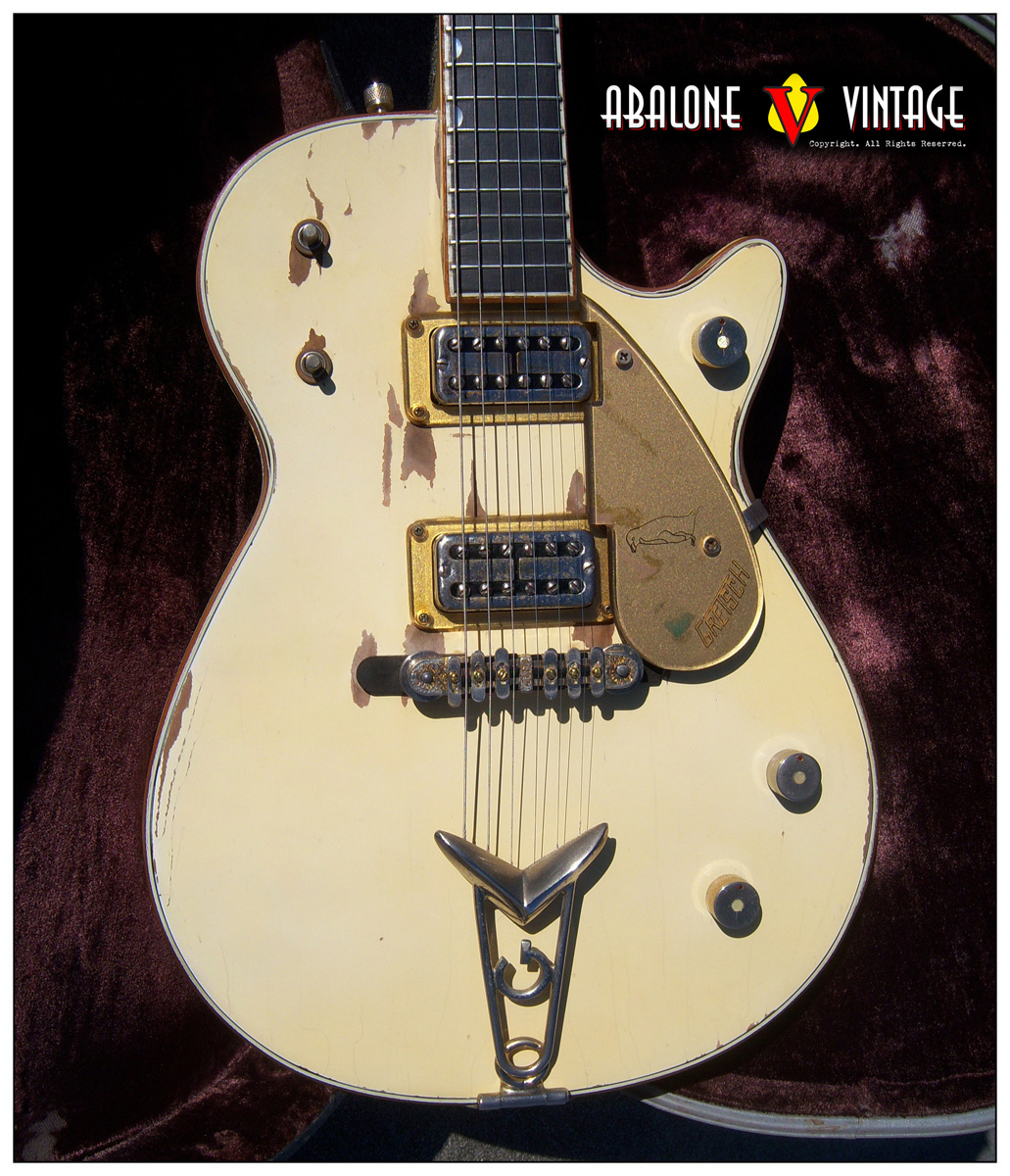 1958 Gretsch White Penguin guitar