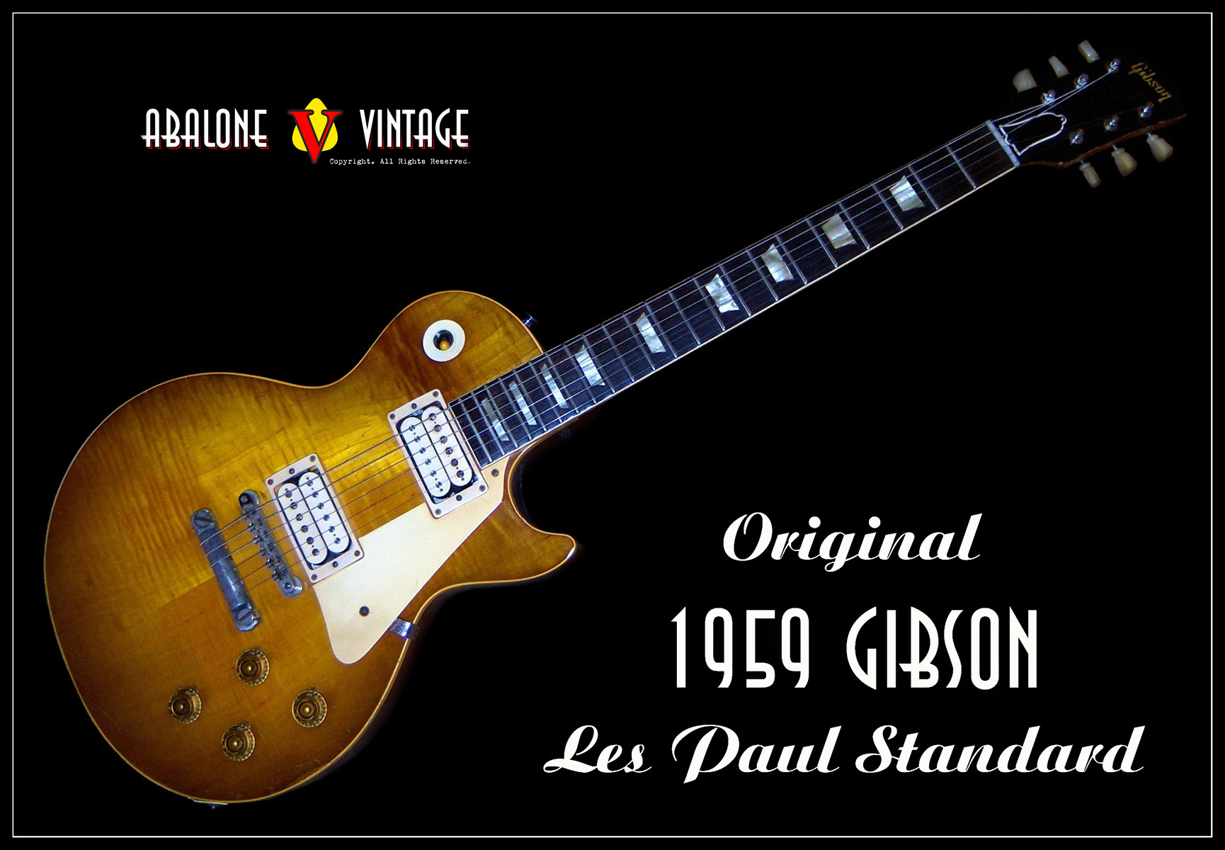 "1959 Gibson Les Paul Standard Guitar 9 0919. ""The Toilet Seat"" Burst!"