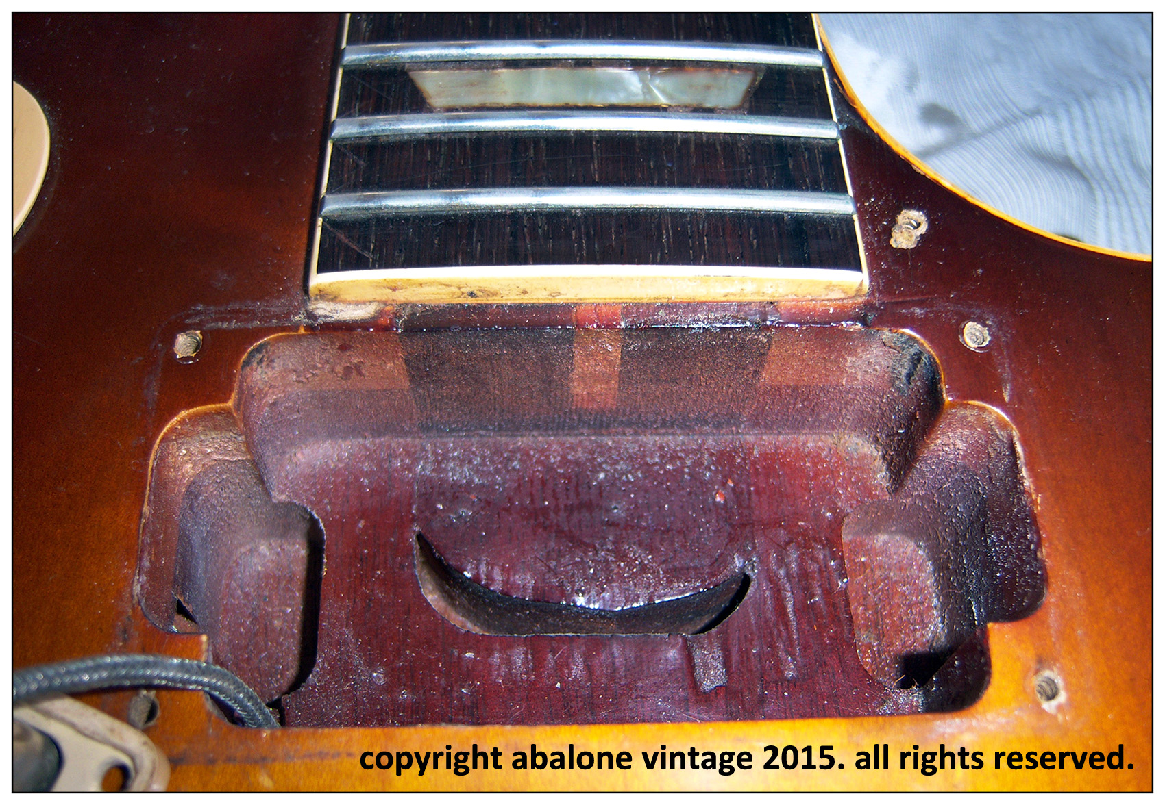 "1959 Gibson Les Paul Standard Guitar 9 1259 ""Lilley"" Burst. Refinished refin PAF parts guitar vintage old repair"