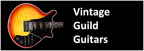 1985 1995 Guild BHM Brian May Signature and Red Special model guitars guitarist Queen guitar
