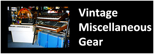 vintage drums vintage synths vintage musical instruments rare old guitar collecting collection