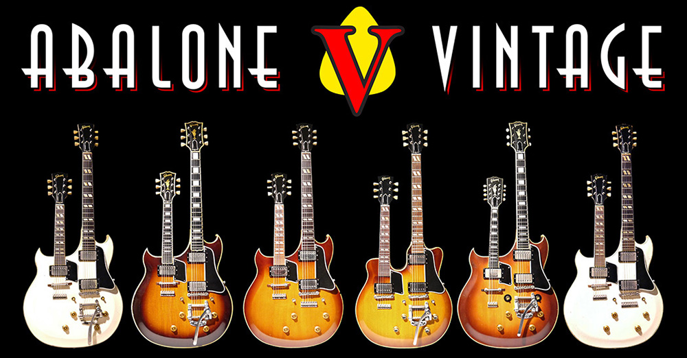 Vintage guitars Abalone Vintage Guitar 1959 gibson les paul standard guitar burst 1952 goldtop 1958 gibson flying v explorer 1960 gibson ems1235 double mandolin 1961 gibson eds1275 double twelve guitars 1937 gibson double neck first spanish solid body electric 1956 gretsch white penguin falcon 6120 1976 veleno traveler 1954 fender stratocaster 1969 1952 fender telecaster 1950 broadcaster tweed twin bassman 1936 Rickenbacker ken roberts rickenbacher 1938 audiovox ropatin stromberg early prototype leo fender lloyd loar gibsonians  1968 marshall 100Watt super lead 1963 vox AC30 wah pedal 1944 martin d28 1993 1994 guild brian may bhm signature 1995 zion ty tabor kings x phil keaggy 1977 boogie bodies frankenstrat evh 1978 dean s standard 1979 hamer sunburst 1981 kramer pacer american 1988 kline klien klein graphic monsters of rock hard rock café  kafe bon jovi  rem stone temple pilots san dimas charvel van halen graphic 1977 ritchie blackmore deep purple rainbow electrofunken ampeg 770 bass amp music store displays queen rush led zeppelin eagles metallica joe bonamassa nerdville nashville chattanooga songbird songbirds museum road show guitar show gig band muse cheap trick zz top gary moore dick dale eric johnson eric clapton peter green the beatles paul kossoff jimi hendrix the rolling stones the who eric ernest rare unique celebrity guitars zemaitis ace frehley kiss vintage guitar authentication expert experts guitar collection services photos photography guitars original effectors